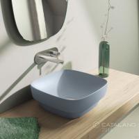 Керамічна раковина 40 см Catalano Green Lux, блакитна 140AGRLXAS