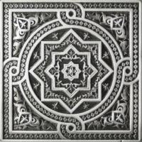 Керамограніт Plox Satined Black Silver 1386 Beni-Mamet 6x6
