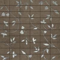 Керамограніт UR064MA Urbana Antrachite Mosaico Fiore 45x45