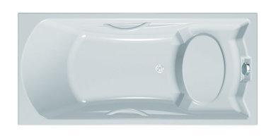 Ванна акрилова Kolpa San Carol 170x80/S White (3838987 741510)