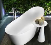 Ванна каменная Gessi Cono 180 см, белая (45925)