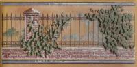 Плитка Cenefa Monterrey Marron 7,5х15