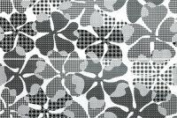 Плитка Eden Dec.DAHLIA DELUXE BIANCO LUC Ret set2pcs 64.2x96.3
