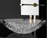 Кришталева раковина Glass Design Ice Oval ICEOVT01F4