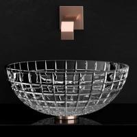 Кришталева раковина Glass Design Luxor Round LUXORROT01F4