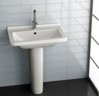 Керамічна раковина 60 см Hatria Erika Pro Q, білий YXGK01